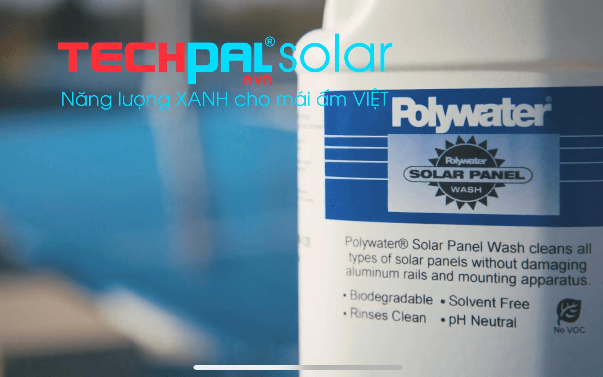 Dung dịch vệ sinh pin mặt trời