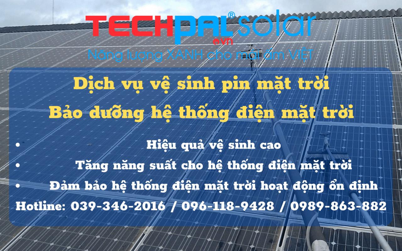 Dịch vụ vệ sinh pin mặt trời